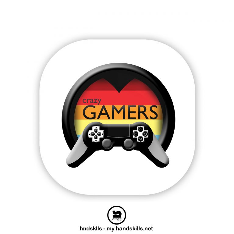 Crazy Games Logo Design by HandSkills Leading Design Future