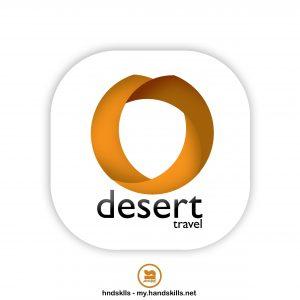 Desert Travel Logo Design by HandSkills Leading Design Future