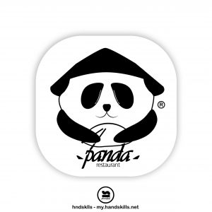 Panda Restaurant Logo Design by HandSkills Leading Design Future