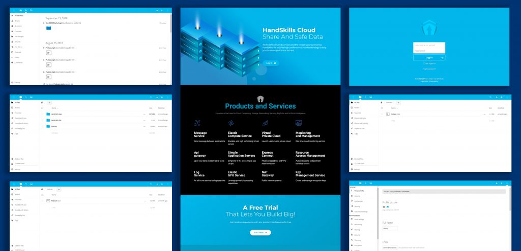 Webdesign by HandSkills